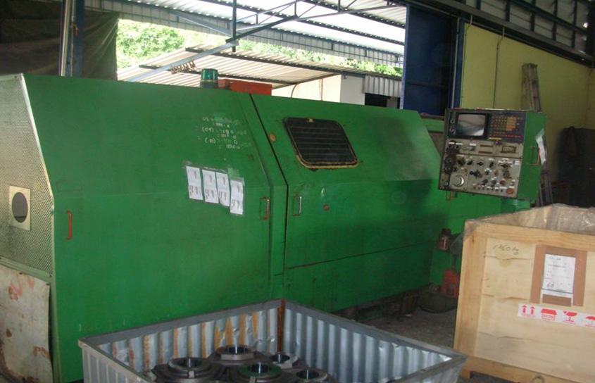 CNC Lathe Machine , Brand ? IKEGAI? Model ?NC 10 T? ใช้คว้านหัว BOSS, ท่อ