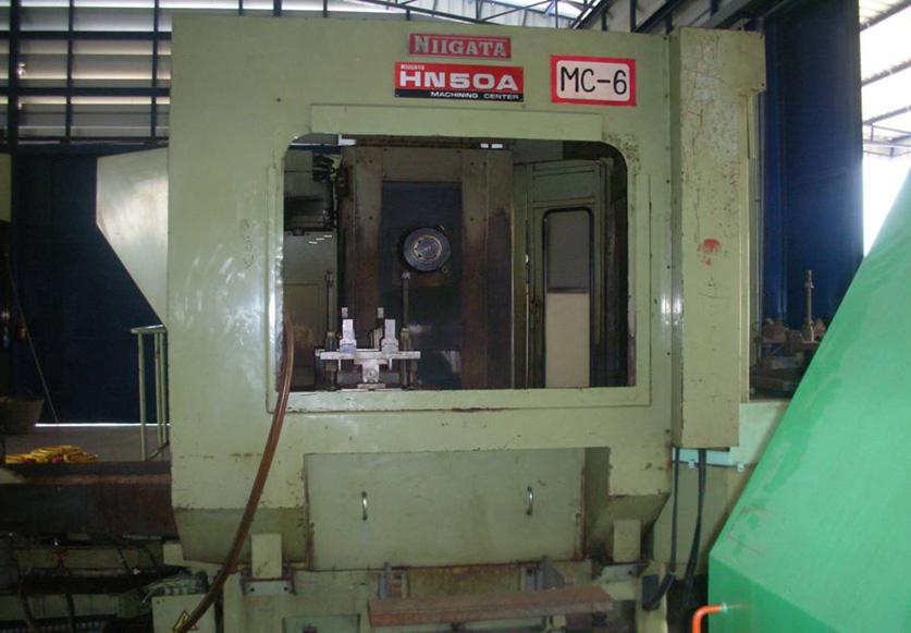 เครื่อง CNC HORIZONTAL MILLING BRAND NiIGATA รุ่น HN-50A ใช้ Machine Bucket Link ได้ทุกรุ่น