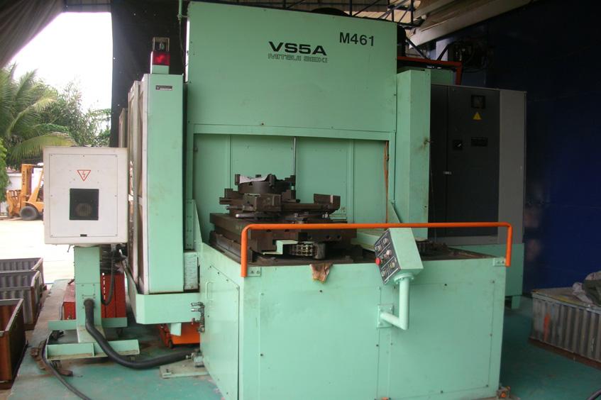 เครื่อง MACHINING CENTER WITH CONTROL FANUC 11 M BRAND ?Mitsui Seiki? รุ่น VS5A ใช้ Machine หัว BOSS, เจาะงานได้ทุกประเภท